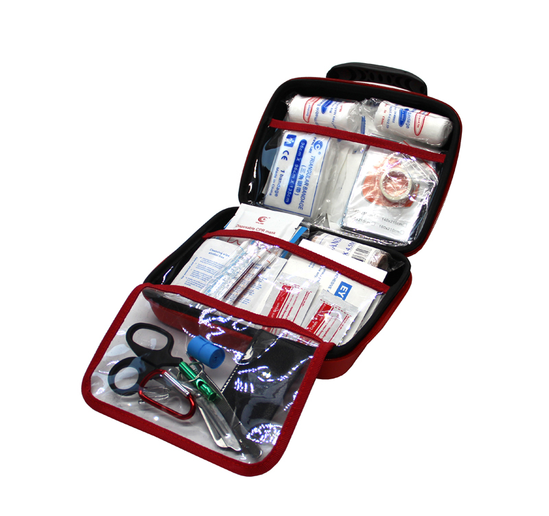 Portable Survival First Aid kit Bag for Emergency at Home, Sports Travel, Outdoors, Car, Camping, Office and Hiking