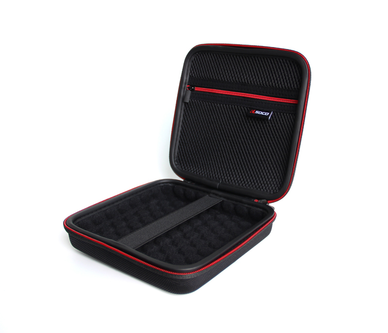 Portable EVA Hard Drive Case, Carrying Travel Case for 2.5-Inch External Hard Drive,
