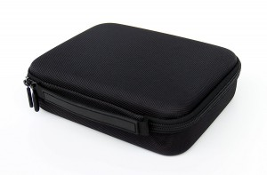 Portable Pocket Pistol Case with rubber handel,compact size and Foam Interior – Shockproof and water resistent – Fits most Glock, Smith and Wesson (S&W), Ruger, Colt,etc.