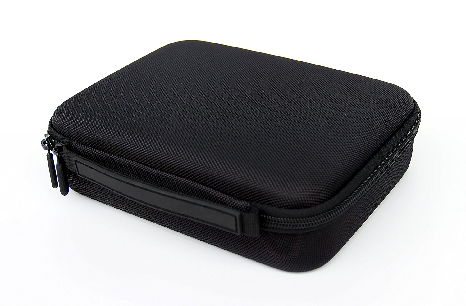Portable Pocket Pistol Case with rubber handel,compact size and Foam Interior – Shockproof and water resistent – Fits most Glock, Smith and Wesson (S&W), Ruger, Colt,etc. Featured Image