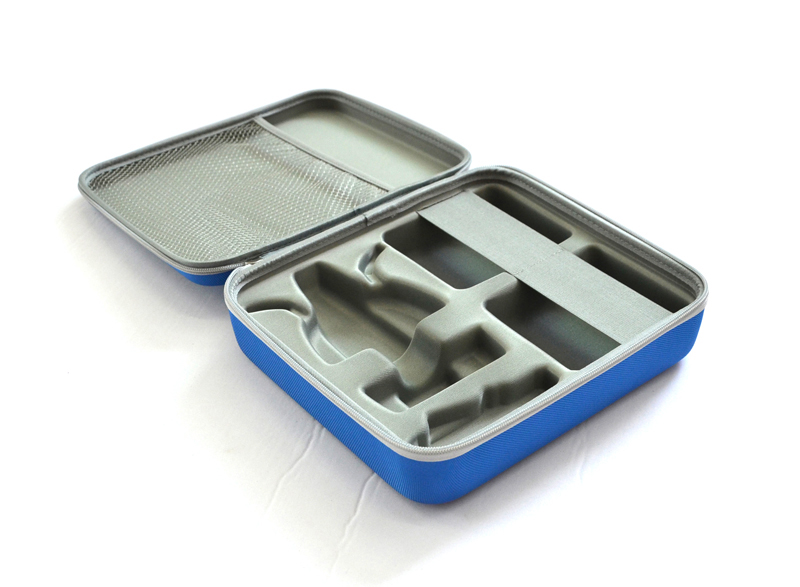 Molded Hard shell Medical compact carrying case
