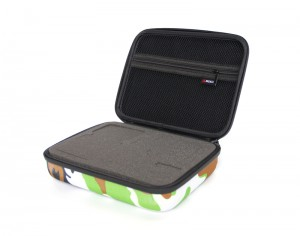 Hard carrying case for gopro case accessories