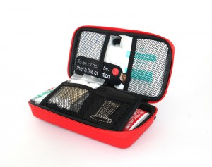New Custom Waterproof Material Traveling EVAFirst Aid Kit, Emergency First Aid Case