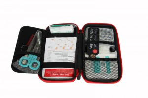High quality customization Factory hot sale travel Mini Eva First Aid Kit with CE/FDA